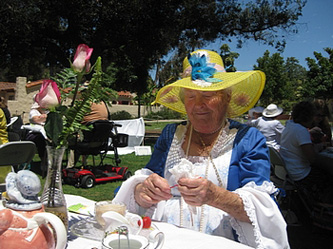 Ladies Auxiliary Luncheon - Tea Party